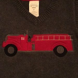 Gymboree Jackets & Coats - Fire truck 🚒 vest